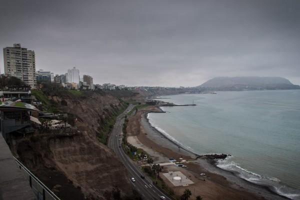 Ausblick Küste Lima