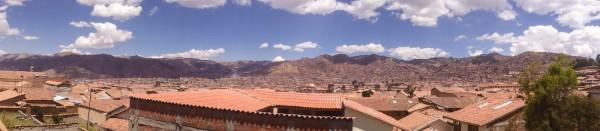 Ausblick Cusco