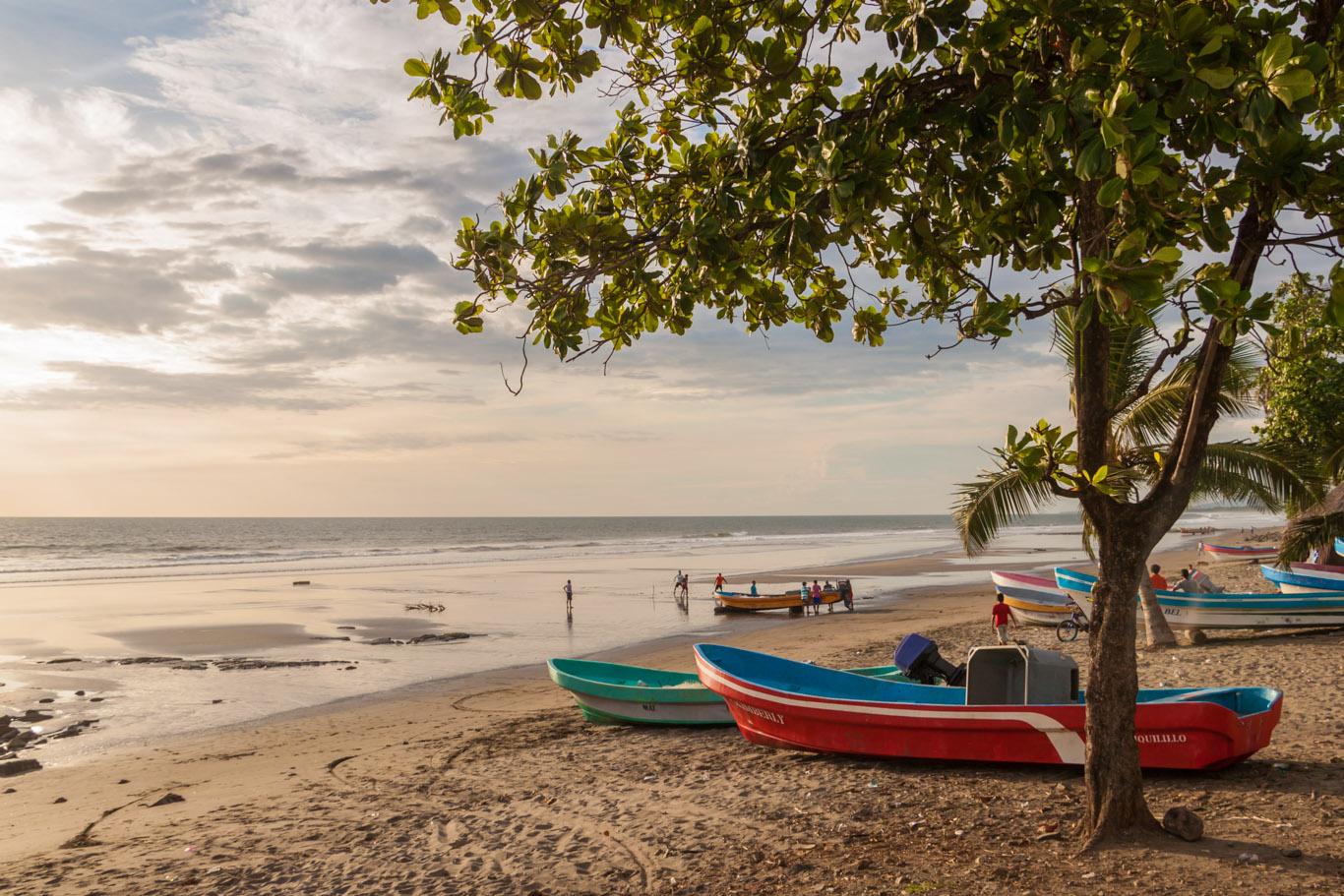 Strand von Jiquilillo