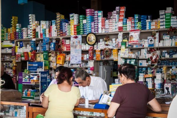 Apotheke auf nicaraguanisch