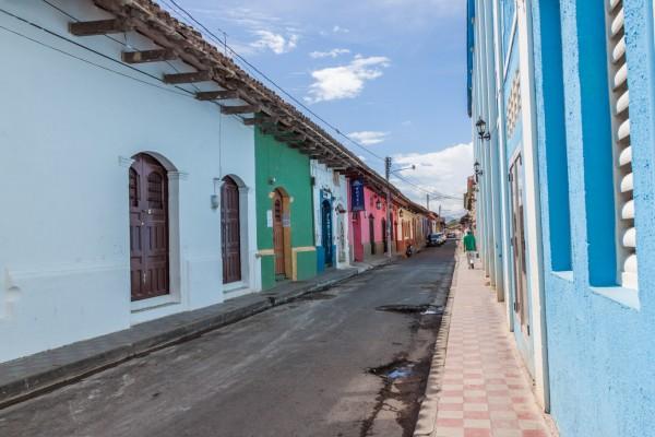 Straßen von Granada - mal leer