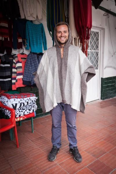 Wie schon erwähnt: Der Anden-Schick ist Poncho