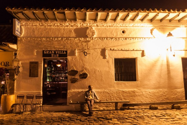 Unsere Lieblingsbar im Dorf Villa de Leyva …
